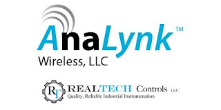 company logos for Analynk Wireless and RealTech Controls