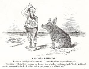 The First Desert Island Cartoon?