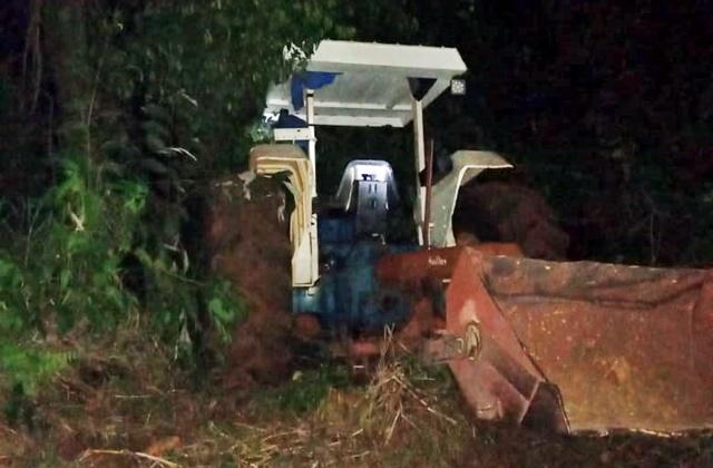 Roncador: Trabalhador perde a vida em acidente com trator no Rio Bonito