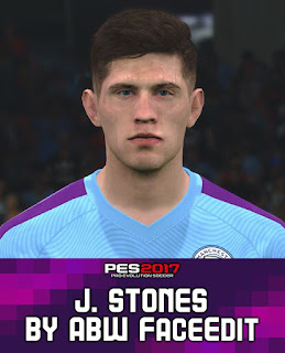 PES 2017 Faces John Stones by ABW_FaceEdit
