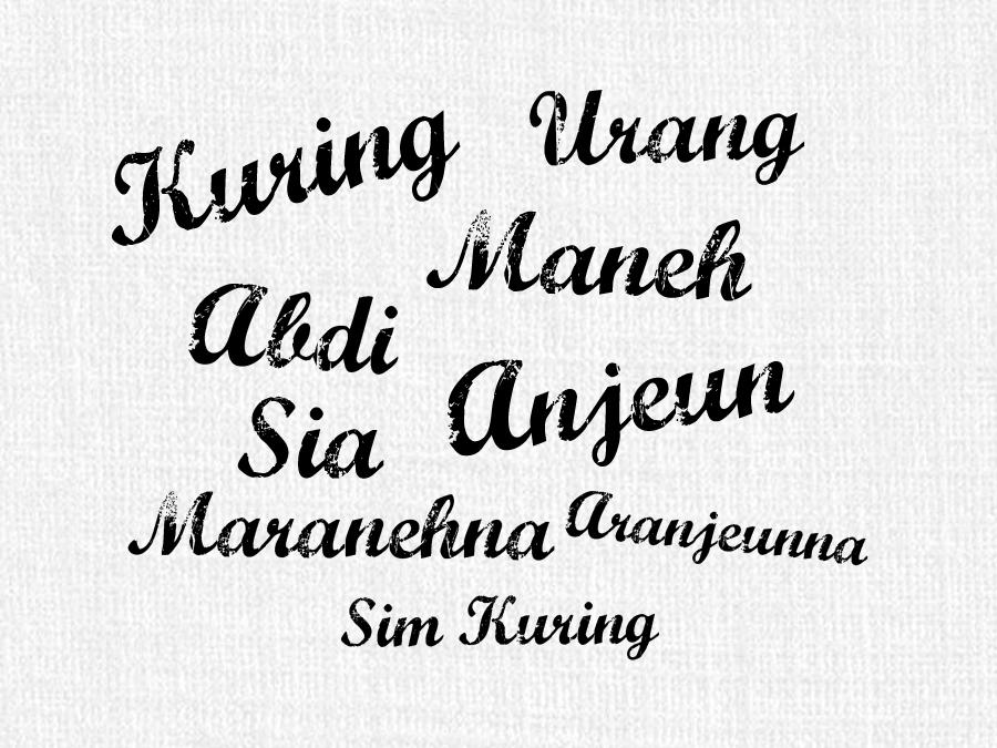 Mengenal Kata Ganti Orang Dalam Bahasa Sunda Dan Contoh