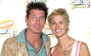 Andrea Bock with her partner Ty Pennington