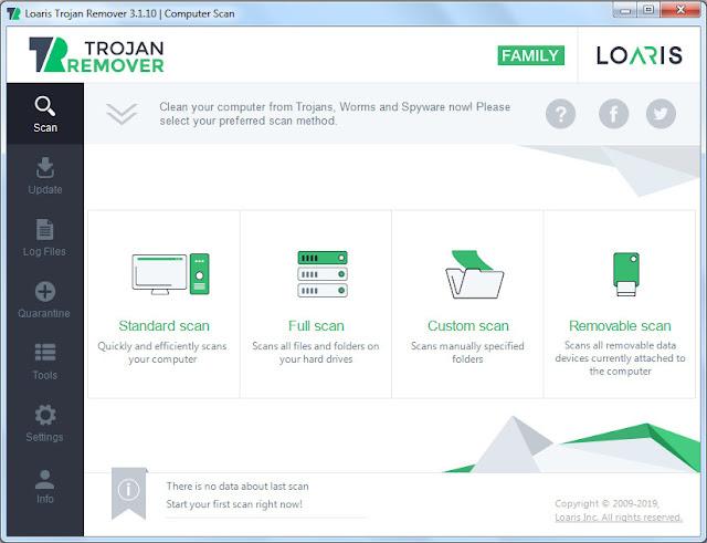 Screenshot Loaris Trojan Remover 3.1.10.1393 Full Version