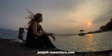 sunset wisata pulau seribu