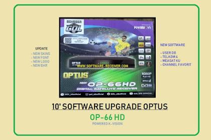 10 Software Optus OP - 66 HD Upgrade New Skin 2020