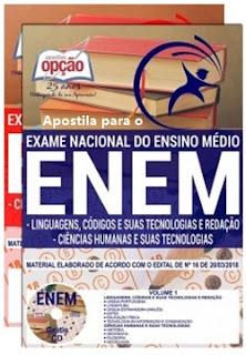Apostila ENEM 2018 Exame Nacional do Ensino Médio
