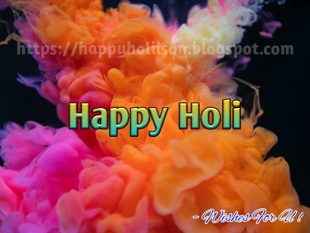 Happy Holi WhatsApp Messages 2019