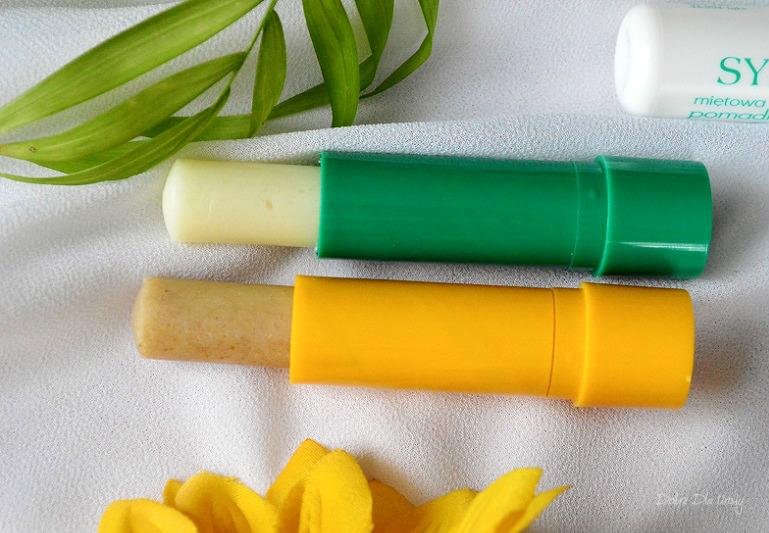 Naturalne pomadki z peelingiem Sylveco - Odżywczej z Miętową recenzja