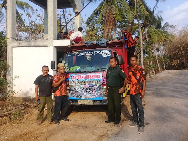 Ormas Pemuda Pancasila PAC Simo Kabupaten Boyolali Salurkan Bantuan Air Bersih