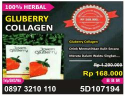 Gluberry Collagen alami, Gluberry Collagen herbal nutrisi, Gluberry Collagen harga murah, Gluberry Collagen muarh dari jovem