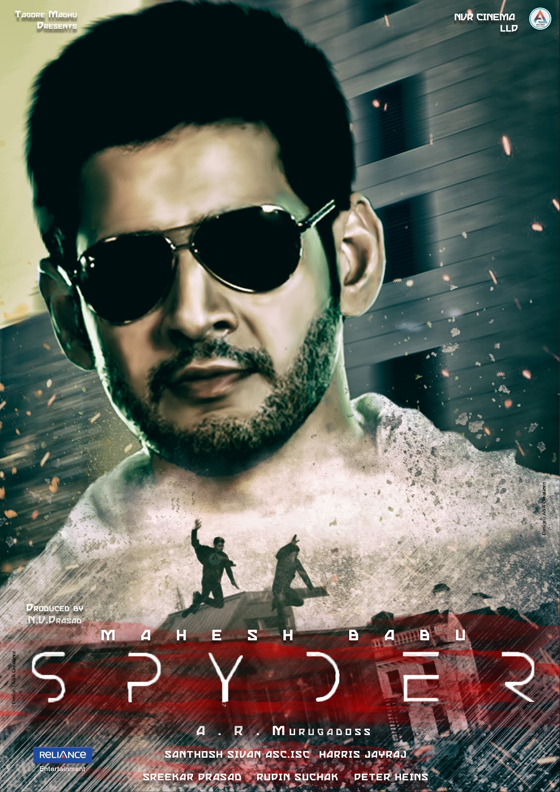 Spyder (2017) Hindi Dual Audio 600MB HDRip 720p HEVC x265 UNCUT