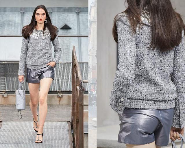 Chanel показ моды весна-лето 2020 11