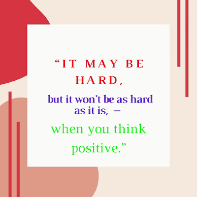 Think positive quotes for WhatsApp DP and status