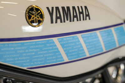 Yamaha SR 400 Custom Fuel Tank by Fred Krugger
