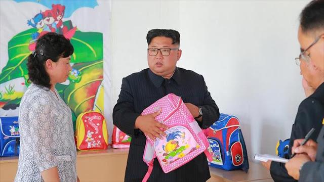 Kim Jong-un enfurece en una visita de inspección por ineficacia