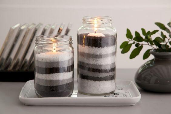 10 ideas y m s reciclando frascos de vidrio de mermelada for Ideas con frascos de vidrio