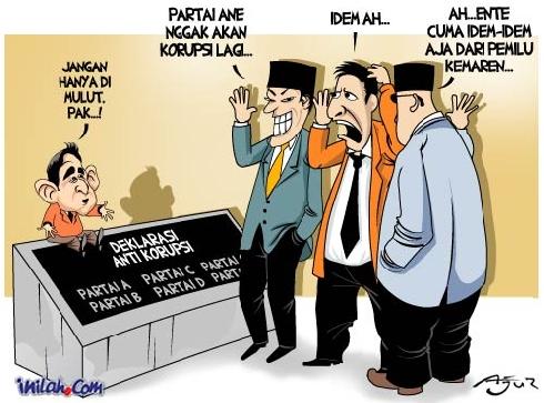 ziyah blogger TUGAS BAHASA INDONESIA 2  KARIKATUR
