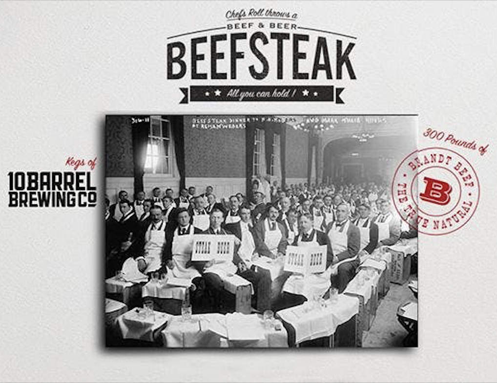 Don't Miss Chef's Roll San Diego Beefsteak Banquet on March 21
