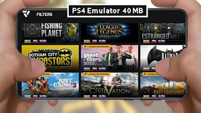 مراجعة و تحميل محاكي العاب PS4 لهواتف الاندرويد الجديد | ازيد من 200 لعبة مجانية