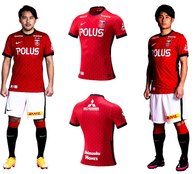 J1 League 2021 Urawa Red Diamonds Kits