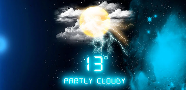 تنزيل Weather Neon Pro 4.8.0 - برنامج رسومي وطقس جميل للأندرويد