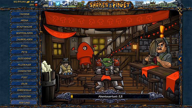 تحميل لعبة لعبة Shakes And Fidget