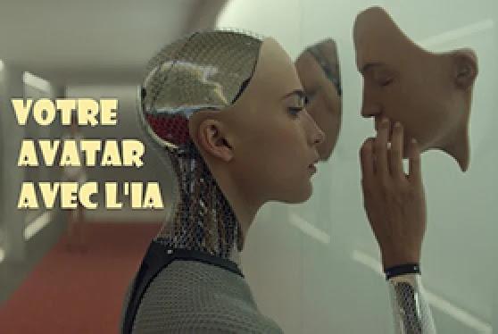 L'intelligence artificielle vous aide a créer votre Avatar.