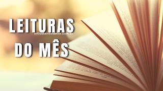 Leituras do mês - indicação de livro