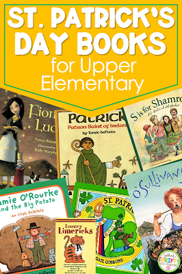 Are you looking for St. Patrick's Day Books you can share with your upper elementary students? Here is a list of 7 engaging and meaningful books.