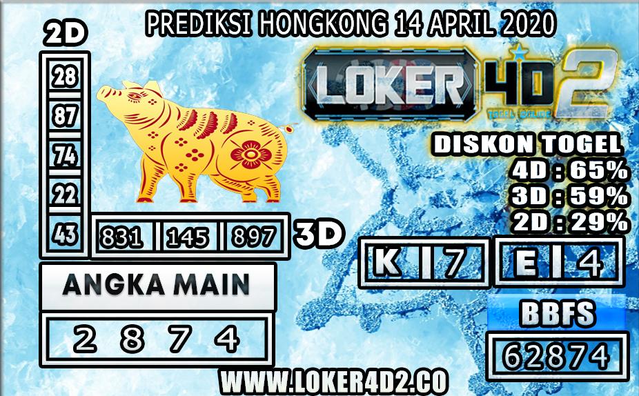 PREDIKSI TOGEL HONGKONG LOKER4D2 14 APRIL 2020