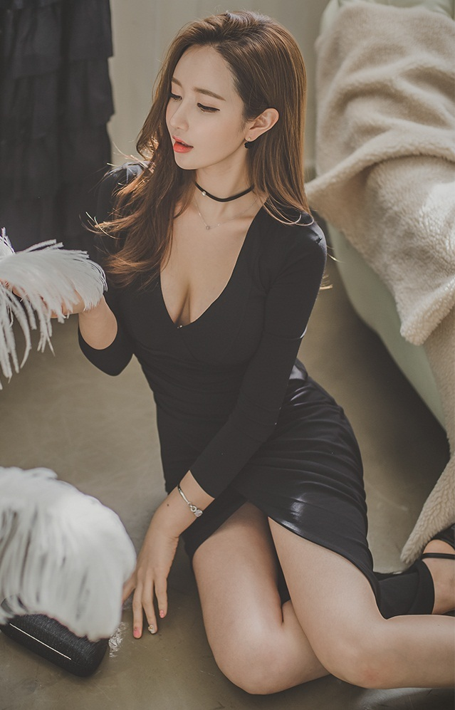 Gái Hàn Quốc xinh đẹp khoe dáng chuẩn