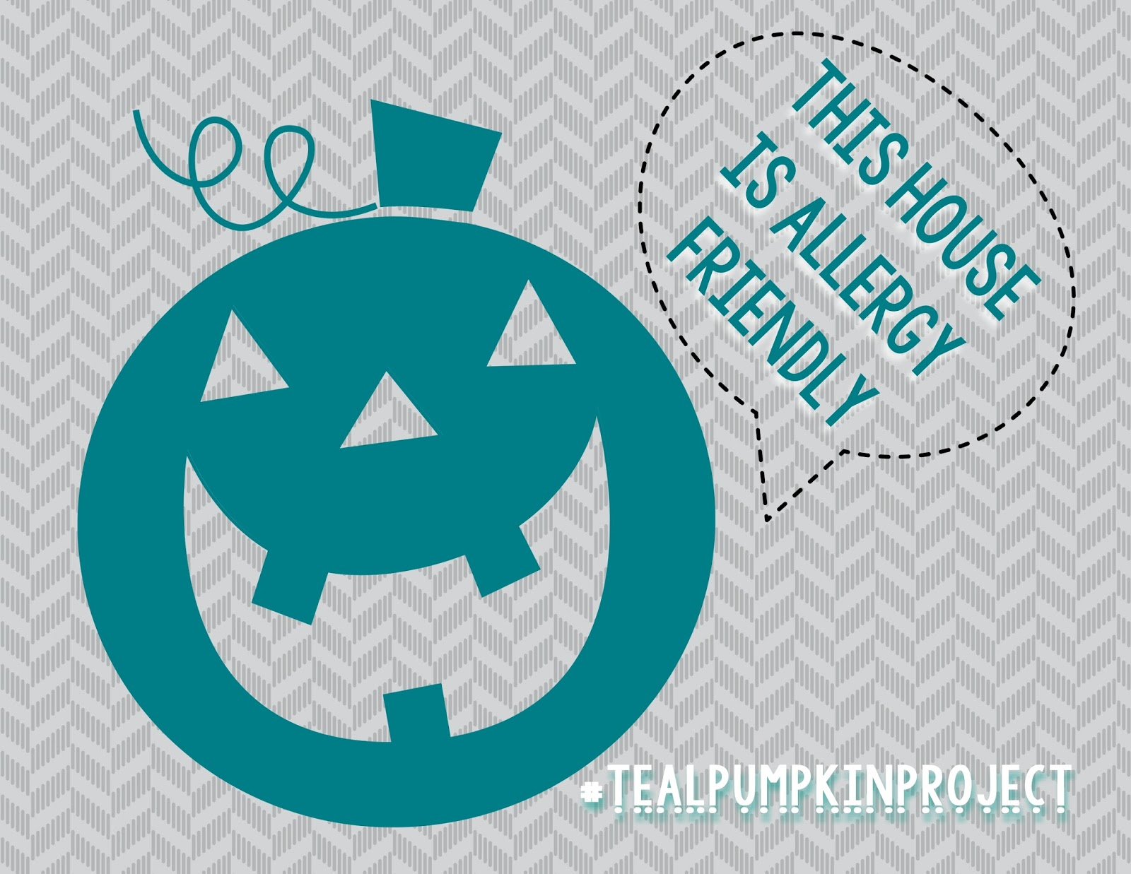 Out of the Right Brain: Teal Pumpkin Project {Free Printable}