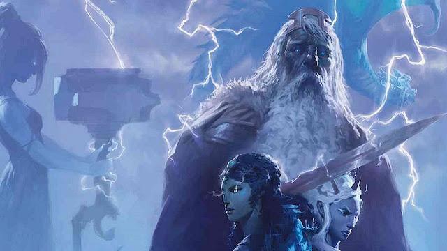 Reseña D&D - El Trueno del Rey de la Tormenta - Portada