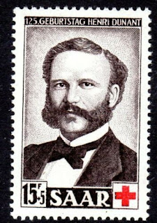Henri Dunant, Red Cross Founder Saar