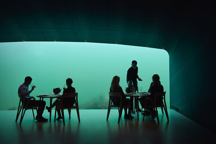 Astonishing Photos Of Underwater Restaurant In Norway That Has Just Been Completed