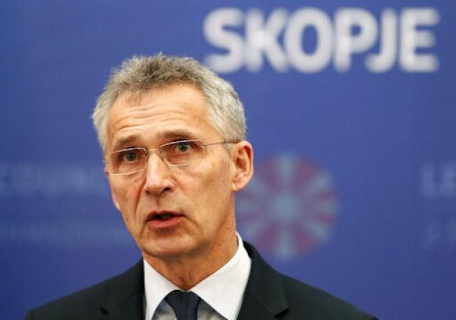 Τα Σκόπια στο ΝΑΤΟ πριν το τέλος του 2019 επιθυμεί ο Στόλτενμπεργκ
