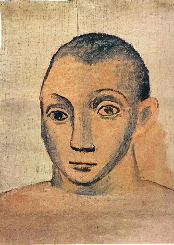 pinkpagodastudio: Picasso--Self-Portraits