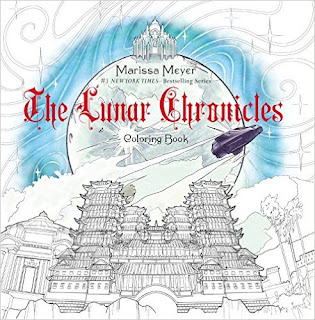 The Lunar Chronicles Coloring Book PDF