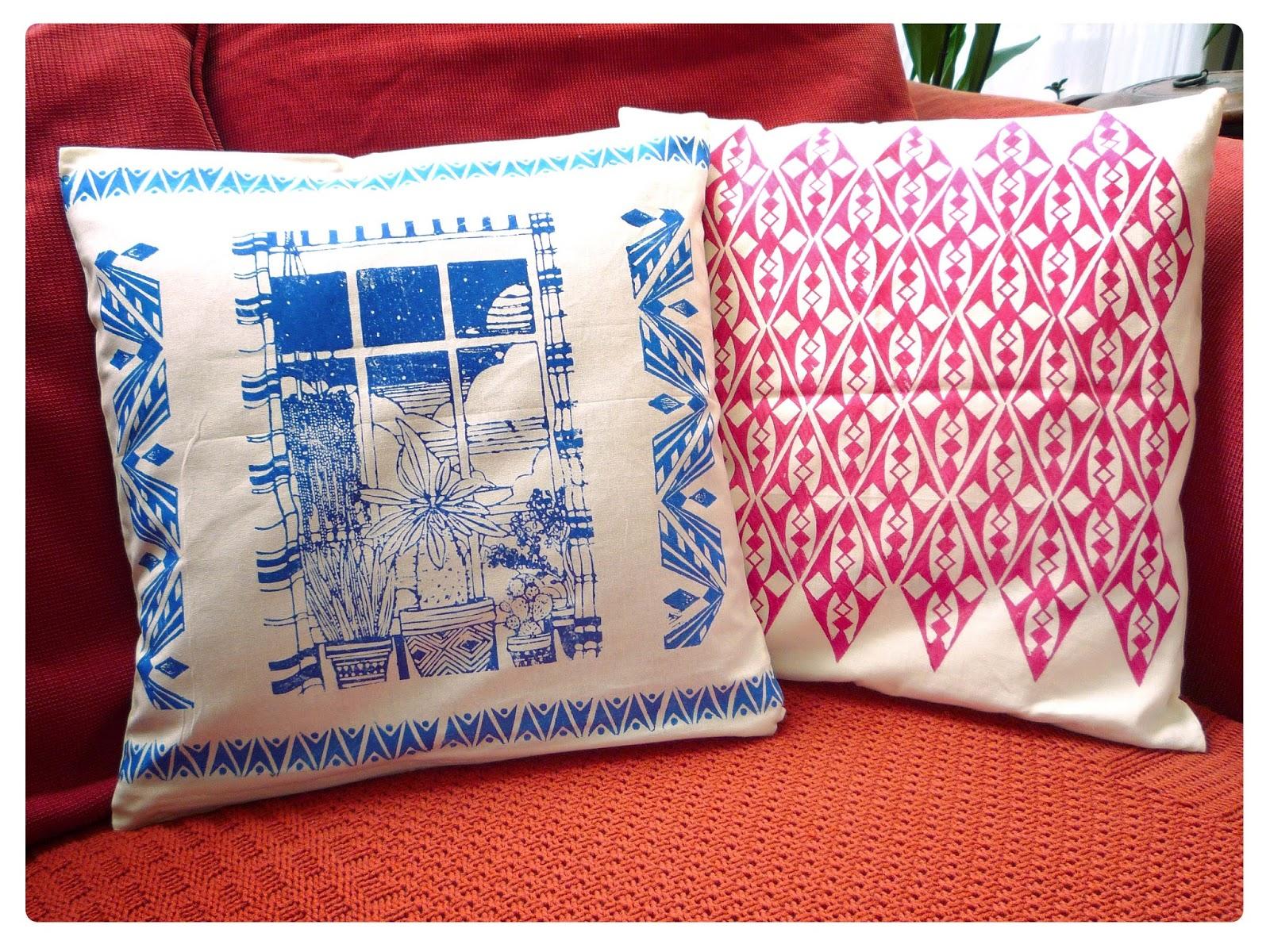 le bal des sylphes impression textile linogravure. Black Bedroom Furniture Sets. Home Design Ideas