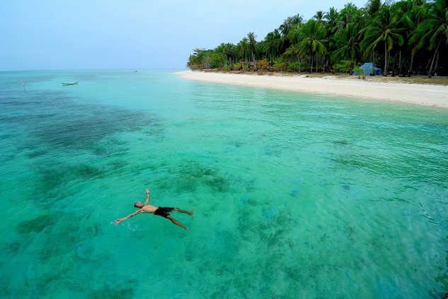 The beauty of Ketawai, an Uninhabited Island in Bangka Belitung, Indonesia