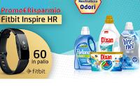 Logo Concorso ''Neutralizza Odori per A&S'' : con Perlana, Dixan e Vernel vinci 61 orologi Fitbit Inspire HR