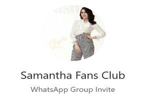 31+ Samantha Akkineni WhatsApp Group Link Of 2019