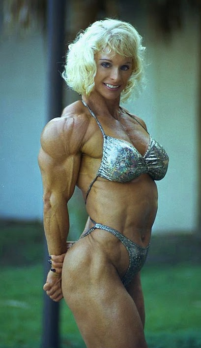 80s Female Muscle Judy Miller