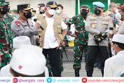 Tinjau Bangkalan Bersama Panglima TNI, Kapolri Paparkan Langkah Selamatkan Warga dari Risiko Covid-19