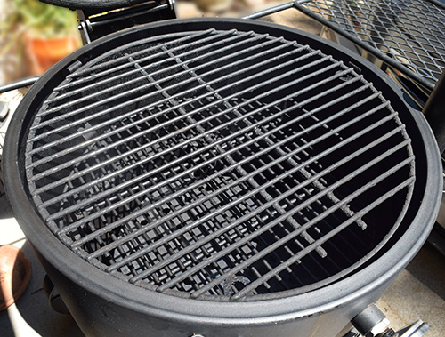 How to smoke green chile brisket on an Oklahoma Joe's Bronco Drum Smoker