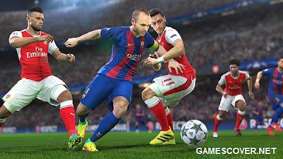 PES 2017 Gameplay