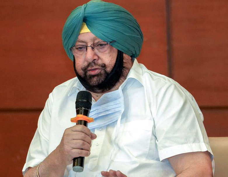 CAPTAIN AMARINDER CLEARS THE AIR, SAYS LEAVING CONGRESS BUT NOT JOINING BJP