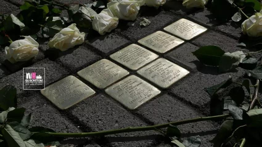 Nuove pietre d'inciampo per la Giornata della Memoria
