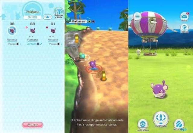 Daftar Game Pokemon Resmi (Buatan Official) Untuk Android - Pokemon Rumble Rush