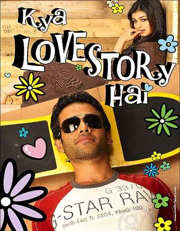 Poster Of Kya Love Story Hai 2007 Hindi 350MB HDRip 480p Free Download Watch Online